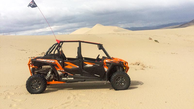 POlaris RZR XP Turbo at Sand Mountain NV