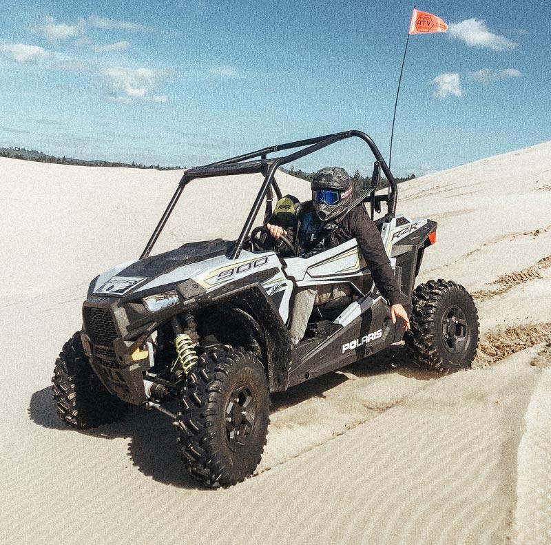 rzr 900 in sand dunes
