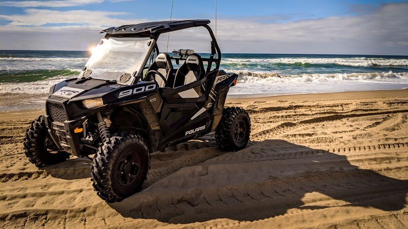 Polaris RZR 900 on the beach